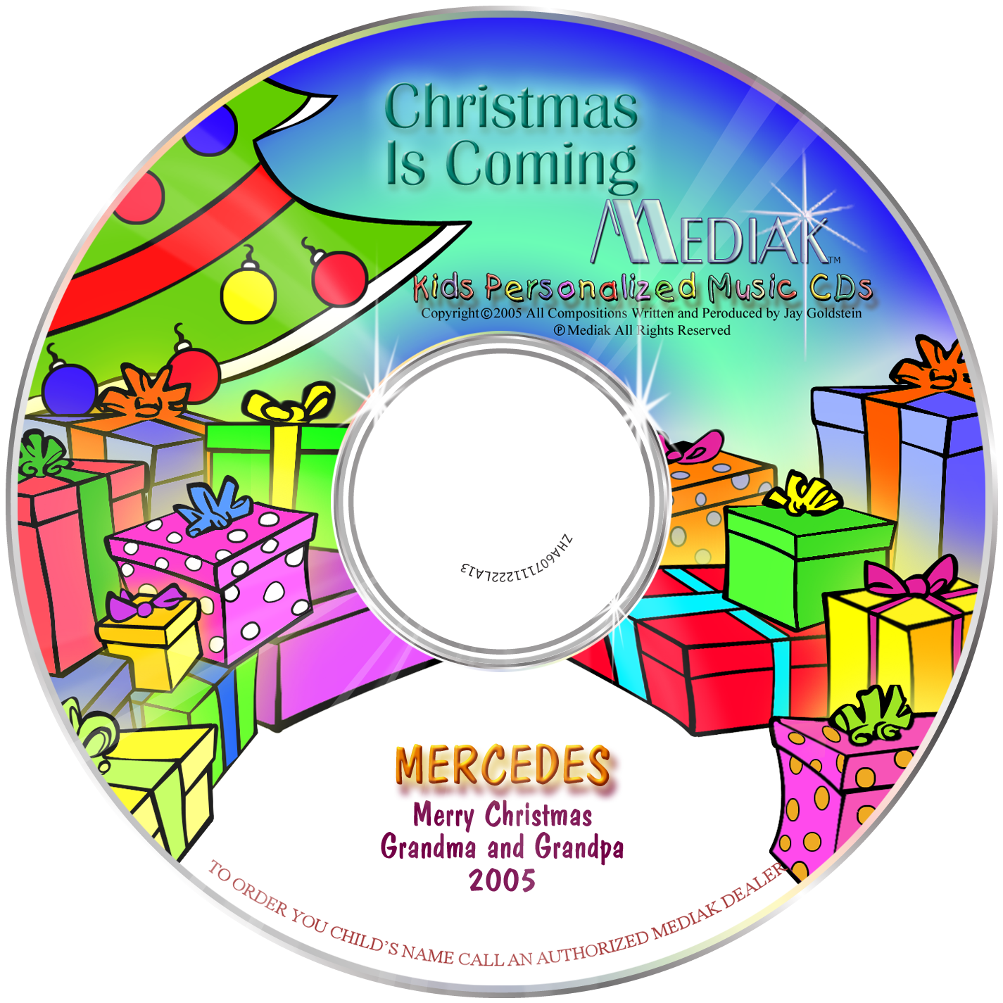 Christmas Is Coming – Tunes for Tikes